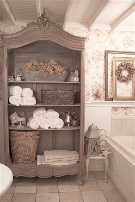 french country bathroom ideas diy by design fall into fall it s a party 34