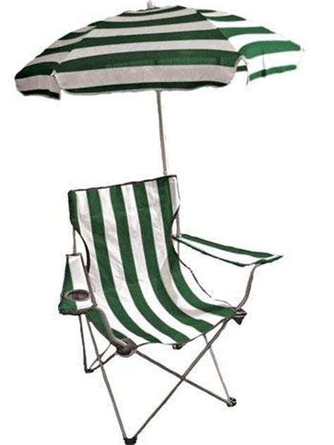 Folding Chairs With Umbrella by Folding Arm Chair With Detachable Umbrella Drink Holder