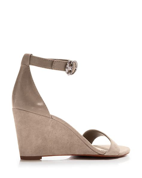 Hk Wedges Suede 2 burch ankle wedge sandals grant suede in