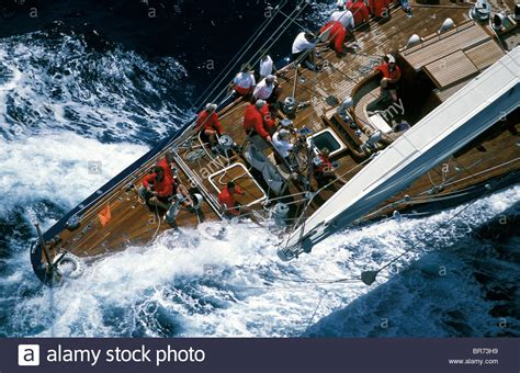 sailing boat racing classes j class quot endeavour quot racing at antigua classic yacht