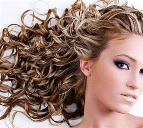 curly hair with lowlights 34 new curly perms for hair hairstyles haircuts 2016
