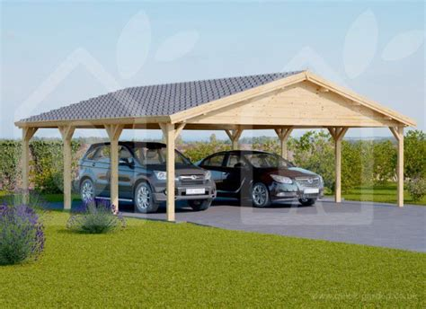 20×20 Wood Carport Plans