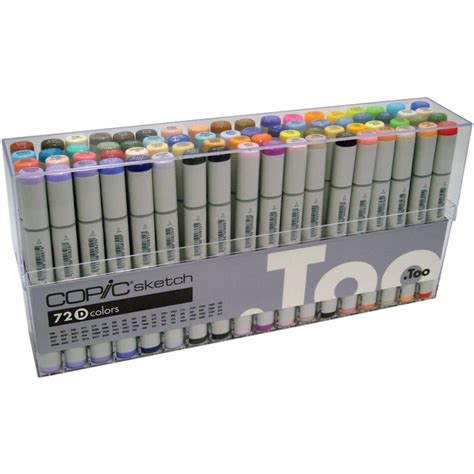 Copic Set 72 Sketch A sketch markers 72 set d s72d by copic ebay