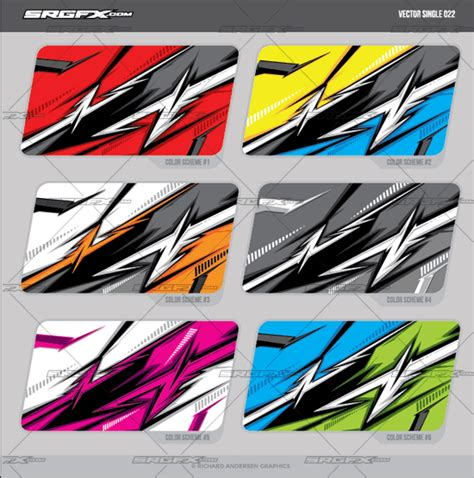 grafik design vendor vector single racing graphic 022 srgfx comschool of