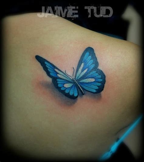 blue butterfly tattoo designs 3d butterfly pictures to pin on tattooskid