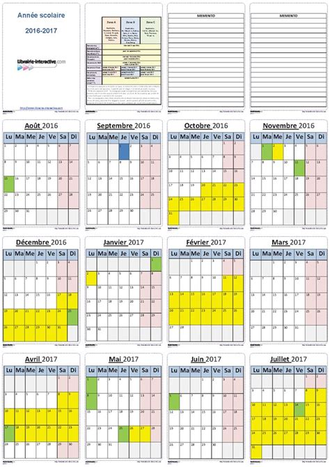 Calendrier 6 Mois 2016 Best 25 Calendrier Scolaire 2016 2017 Ideas On