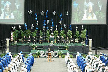 podium flowers graduation images  pinterest