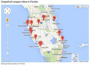 gallery a tour of grapefruit league cities