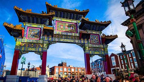 new year chinatown liverpool arch historic house palace in liverpool