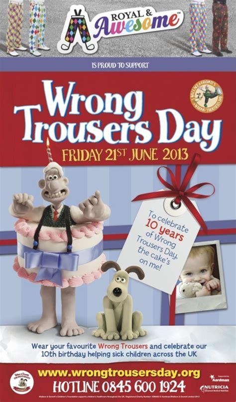 Wallace And Gromit Ask You To Wear Wrong Trousers by Royal Awesome Provide Cracking Sponsorship For Wallace Gromit