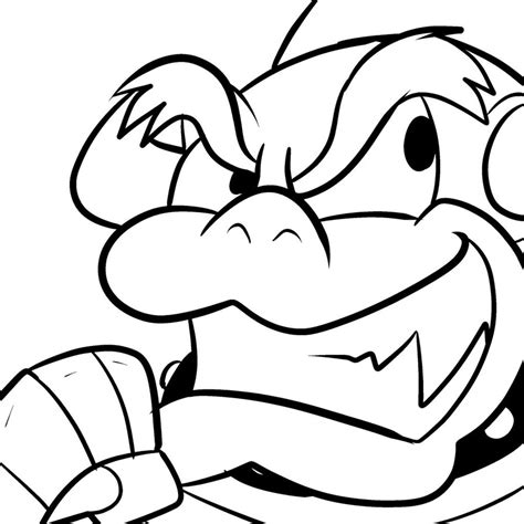 baby wario coloring pages how to draw r baby luigi