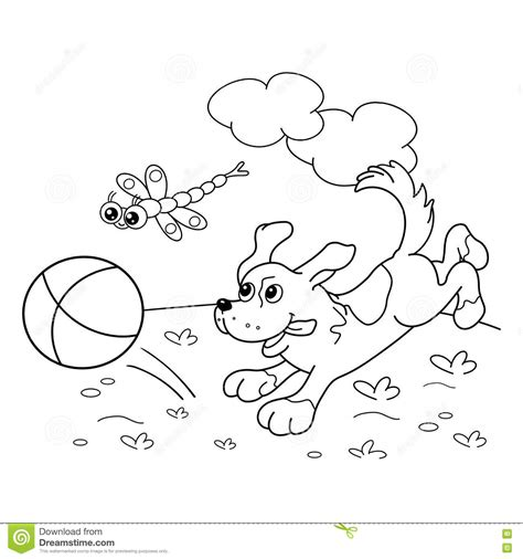 clipart da colorare coloring page outline of with stock vector