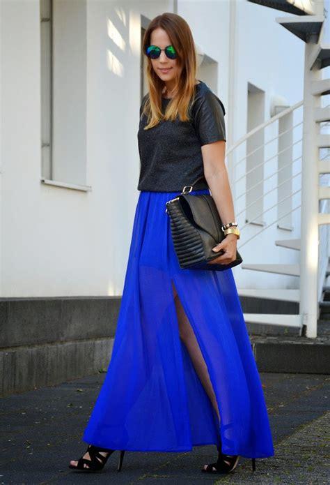 looks stylish traditions to addict maxi skirts in winter 2014 2015 estilodf 187 la maxi falda una favorita del oto 241 o 161 y las 5