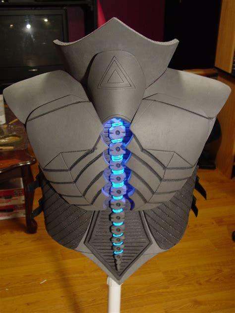 rigor combat armor back by evil fx on deviantart