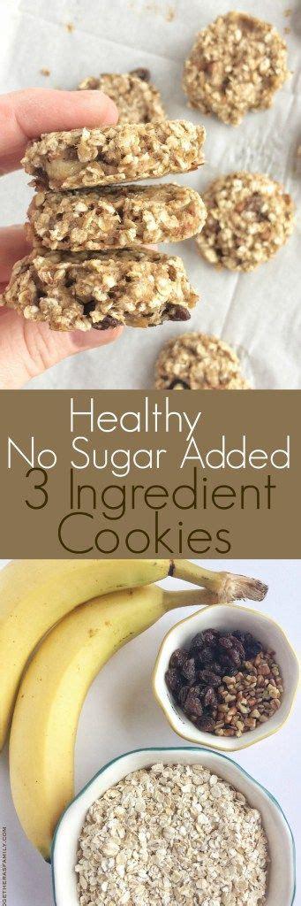 3 Ingredient Detox Cookies by Best 25 No Sugar Diet Ideas On Sugar Diet