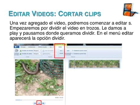 tutorial editar videos windows movie maker windows live movie maker tutorial