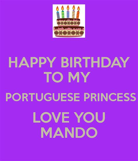 Happy Birthday To My Princess Quotes Happy Birthday Quotes In Portuguese Quotesgram