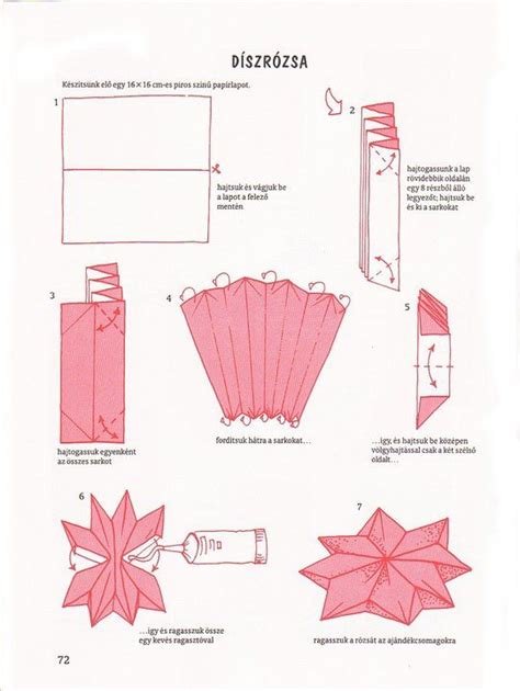 8 Pointed Origami - papercraftsquare new paper craft how to fold an