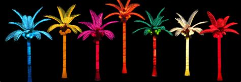 lighted palm tree pacific lights inc led lighted palm trees buy factory direct