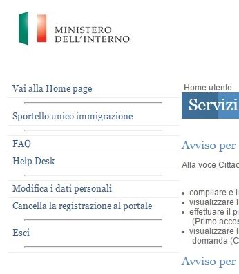 ministero dell interno documenti per cittadinanza documenti per la cittadinanza italiana cittadinanza italiana