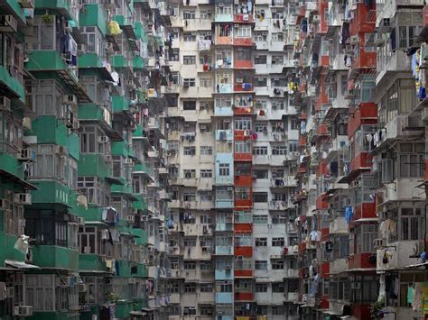hong kong high rise apartment complex pics