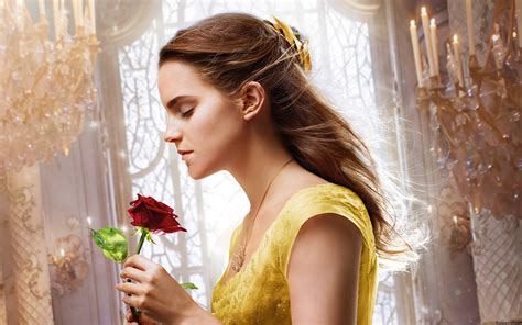 2017 movie beauty and the beast princess belle dress belle beauty and the beast 2017 movie 4k wallpaper