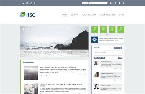 design inspiration hsc intranet design exles claromentis