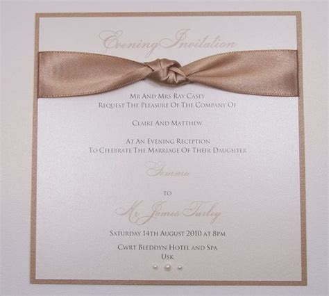 All Wedding Stationery by All Wedding Invitations Evening Invitations And Other