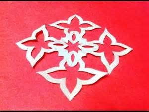 How To Make Paper Design Cuttings - diy kirigami paper cutting crafts