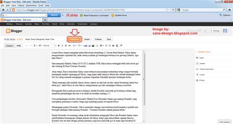 blogger artinya cara membuat postingan blog