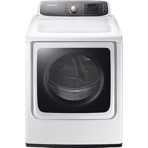 samsung dryer samsung dv56h9000ew 9 5 cu ft electric dryer white