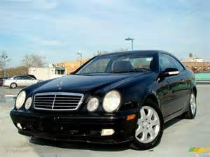 2001 Mercedes Clk 320 Black 2001 Mercedes Clk 320 Coupe Exterior Photo