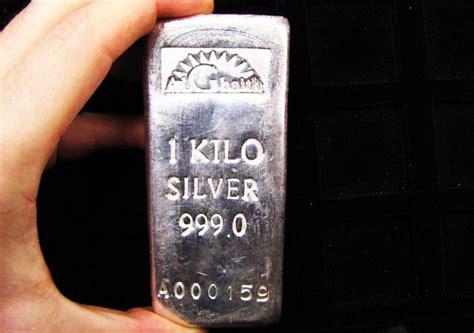 1 Kilo Silver Bar Dimensions by One Kilo Silver 9999 Alghaith Silver Bar