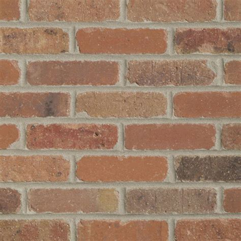 mill brick dixie clay colonial collection thin brick