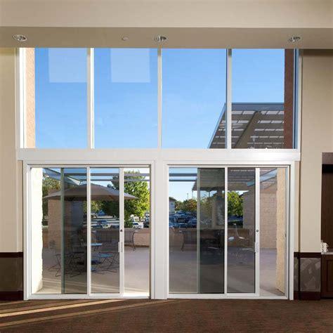 exterior pocket sliding glass doors commercial sliding door systems aluminum exterior 990