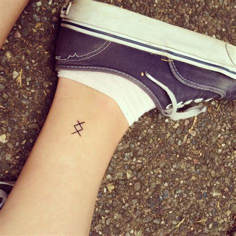 rune tattoo placement my viking rune tattoo inguz meaning quot where there is a