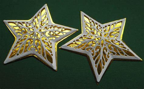 Basteln Sternen by Ullis Bastelwerkstatt 3d Sterne