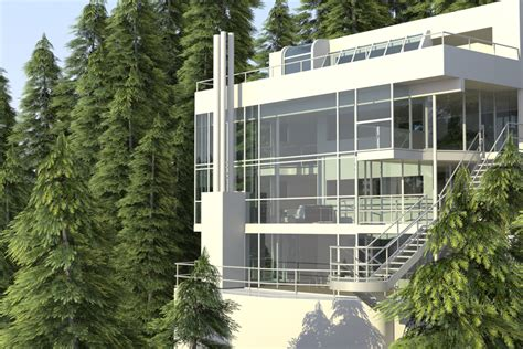 Contemporary Architecture Homes by The Modern House I Richard Meier S Douglas House The
