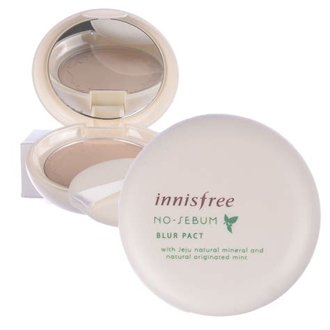 Harga Innisfree No Sebum Blur Pact innisfree no sebum blur pact 8 5g