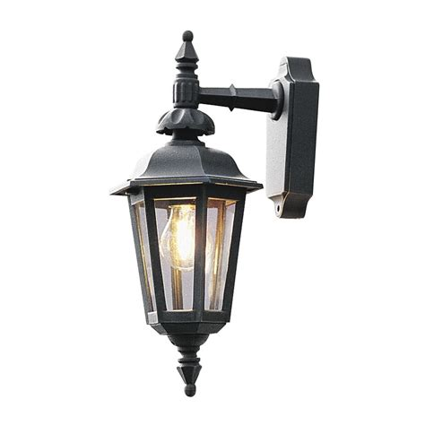 Konstsmide Outdoor Lights Konstsmide Pallas 519 750 Wall Lantern Matt Black