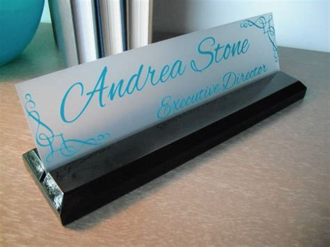 office desk name plates desk name plate personalized professional office gift by