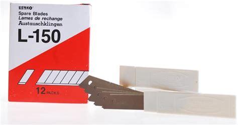 Isi Pisau Cutter Besar isi cutter spare blades kenko l 150 toko grosir alat
