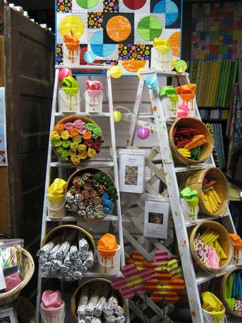 Selling Handmade Items In A Store - 20 creative ladder ideas for home decoration hative
