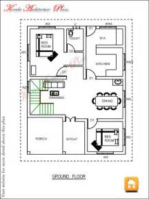 Ground Floor 3 Bedroom Plans by Three Bedroom House Plan Architecture Kerala