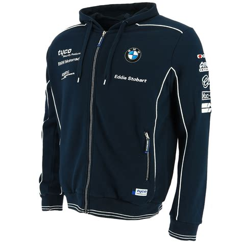 Bmw Hoodie by Tyco Bmw Superbike International Racing Zip