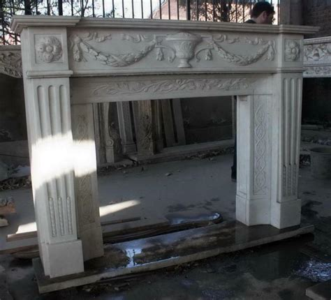 marble fireplace mantel carved white italian style carved marble fireplace mantel white
