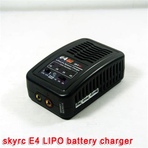 3s lipo battery charger lipo 4s skyrc e4 rc lipo battery balance charger for 3s 4s