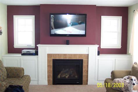 run wiring    fireplace mounted tv