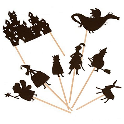 new year shadow puppet templates template