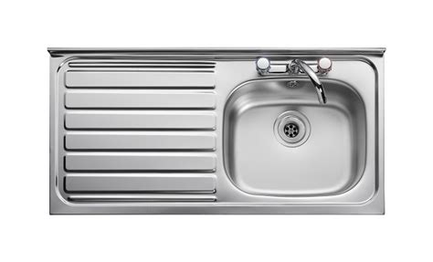 leisure kitchen sinks leisure contract lc105l 1 0 bowl 2th stainless steel